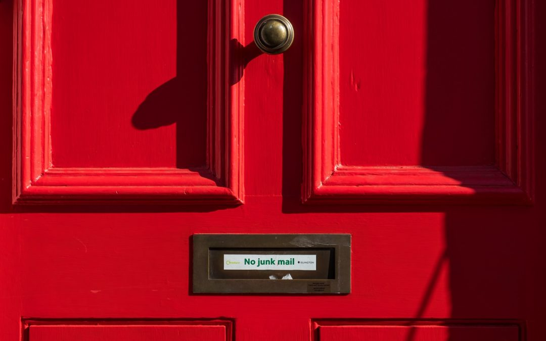 New blog: Who reads the junk mail?
