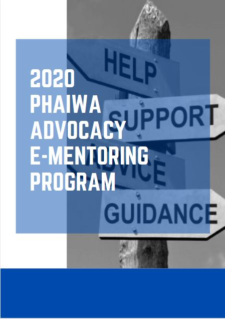 2020 PHAIWA e-Mentoring Program Expressions of Interest