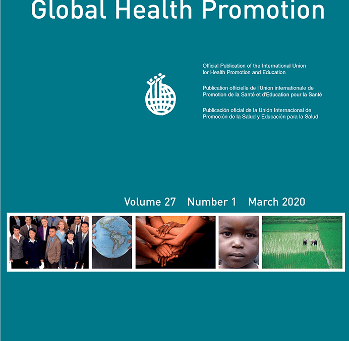 Article abstract: Timely and significant call for planetary health promotion